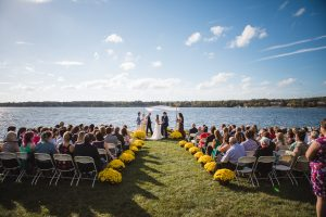 Beautiful Wedding Ceremony Formals at a Private Chesapeake Bay Lighthouse 21