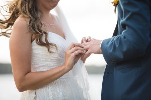 Beautiful Wedding Ceremony Formals at a Private Chesapeake Bay Lighthouse 23