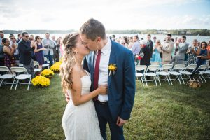 Beautiful Wedding Ceremony Formals at a Private Chesapeake Bay Lighthouse 27