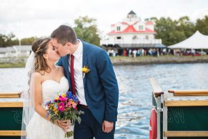 Beautiful Wedding Ceremony Formals at a Private Chesapeake Bay Lighthouse 32