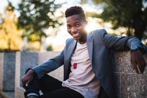 A Meandering Senior Portrait Session on the Streets of Downtown DC 16