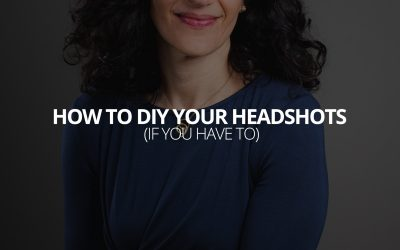 How to DIY Your Headshots (If You Have To)
