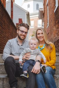 Sunset Family Portraits with Greg on the Streets of Downtown Annapolis 02