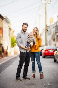 Sunset Family Portraits with Greg on the Streets of Downtown Annapolis 09