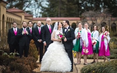 Franciscan Monastery Wedding Portraits | Teresa & Joe