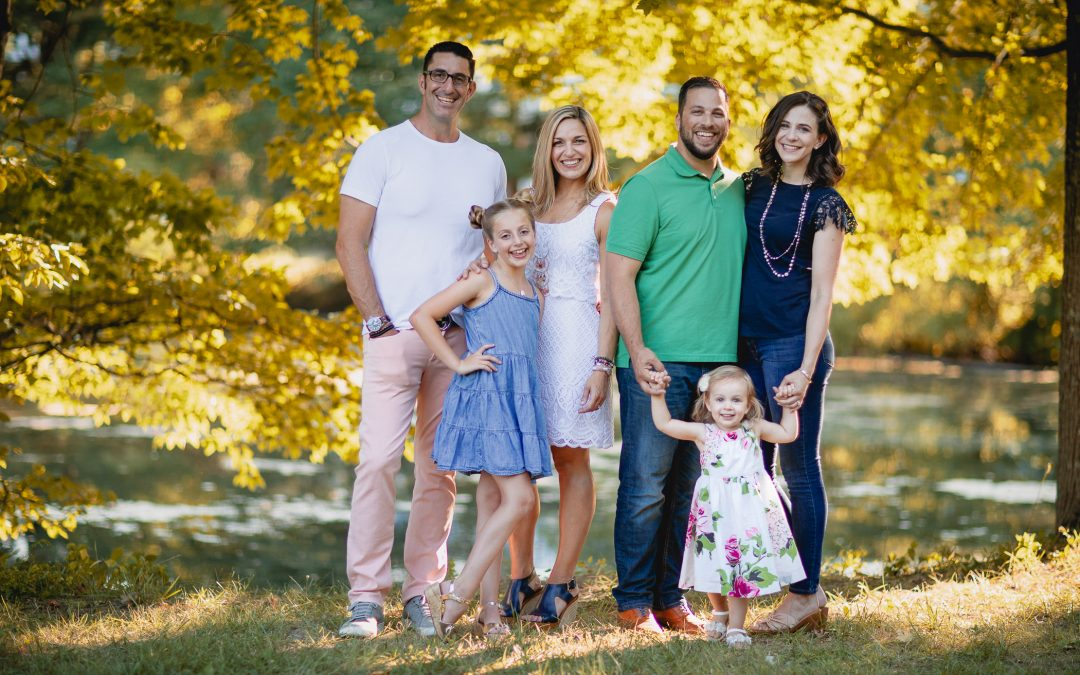 An Extended Family Portrait Session at the Garrison Forrest School