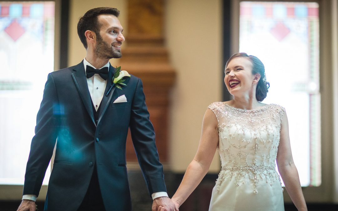 An Intimate September Wedding at The Loft at 600F & The National Portrait Gallery