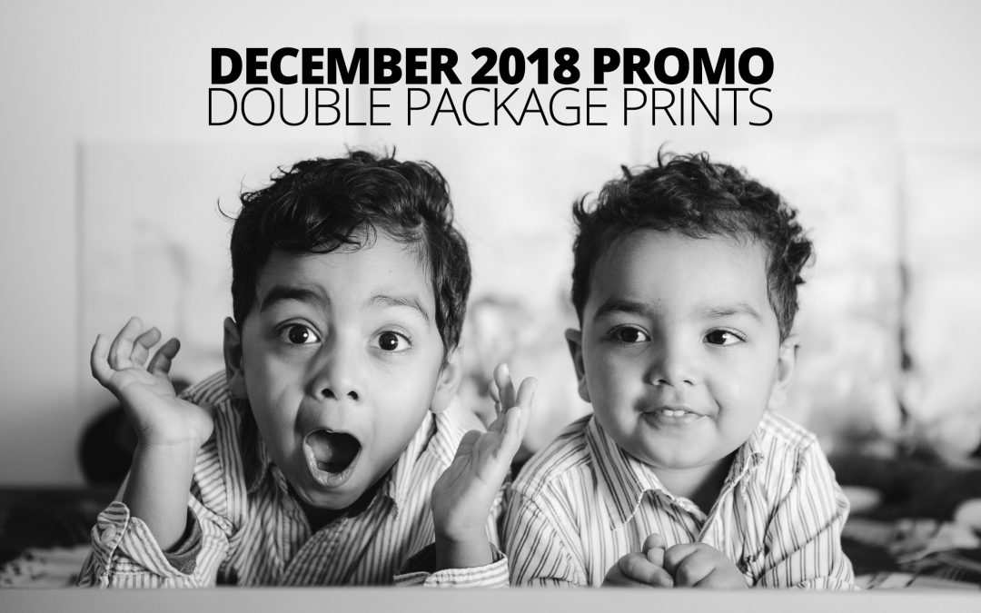 Get Free Double Prints on Portrait Bookings & Reservations in December