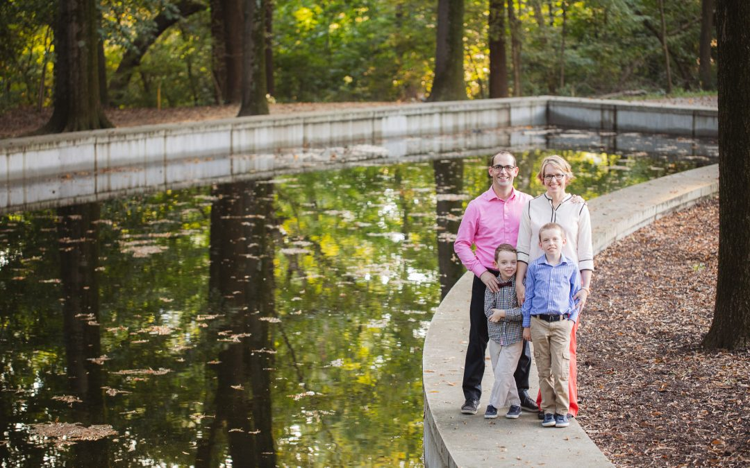 Roosevelt Island Family Portraits | October 2018 with Missy & Joe
